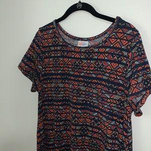 LULAROE - Aztec Carly Dress
